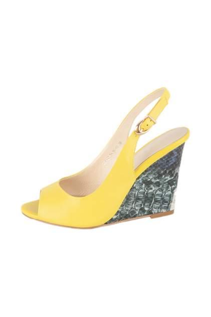 Туфли женские Calipso 316-08-TH-14-KK желтые 36 RU