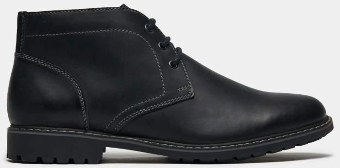 Ботинки мужские Ralf Ringer 573203ЧНБ черные 43 RU