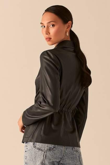 Кожаная куртка женская LOVE REPUBLIC 0357213106/ черная 40