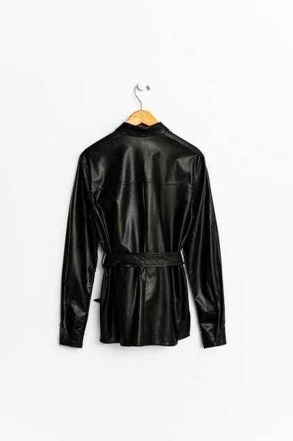 Кожаная куртка женская befree 2031506326 черная XS