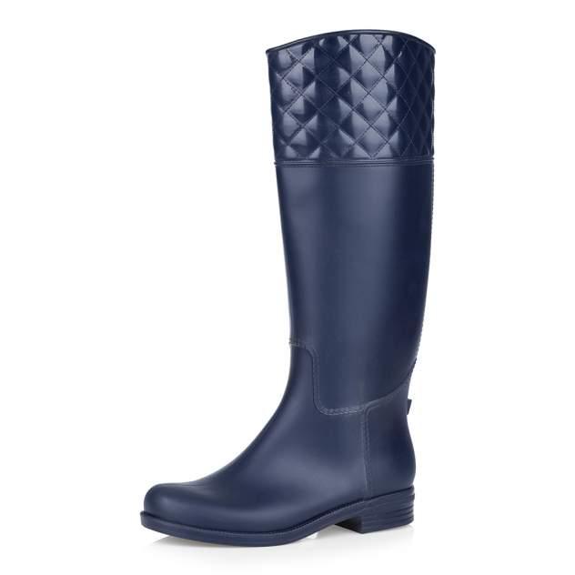 Резиновые сапоги женские Respect 5-1-108 синие 37 RU