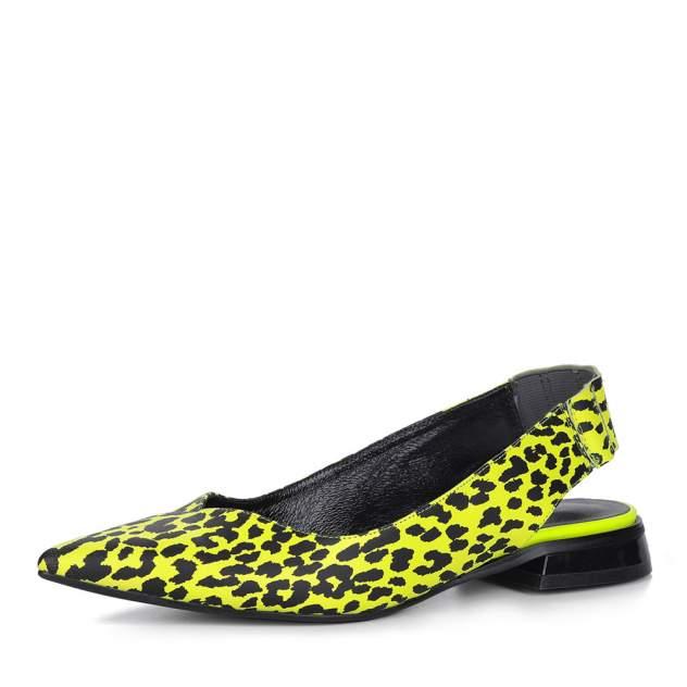 Туфли женские Respect 75-6-22, желтый