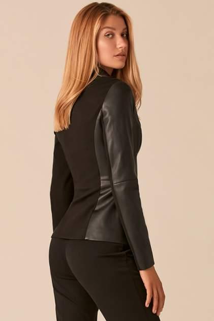 Кожаная куртка женская LOVE REPUBLIC 0358244111/ черная 40