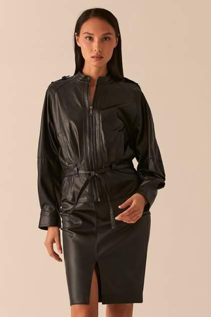 Кожаная куртка женская LOVE REPUBLIC 0358258106/ черная 44