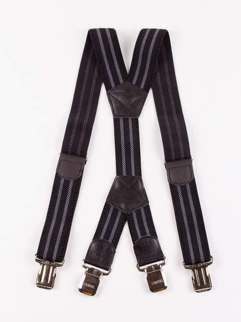 Подтяжки мужские DAIROS GD22500321 черно-серые