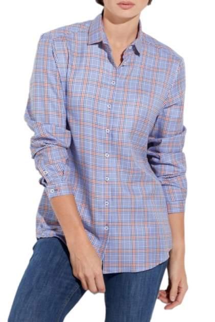 Блуза женская ETERNA 6252_16_D721 голубая 34