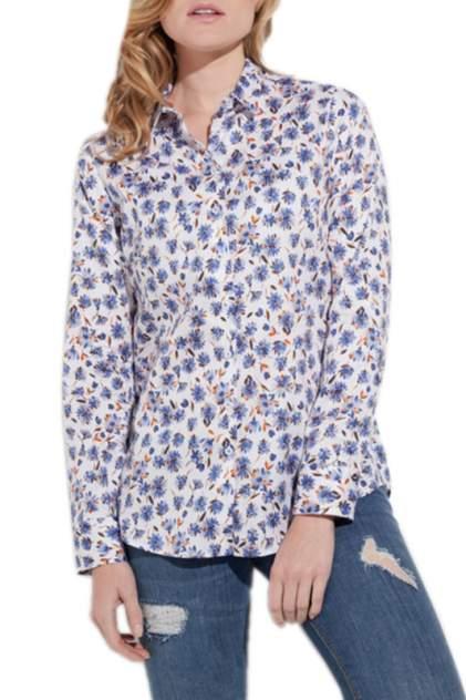 Блуза женская ETERNA 7247_10_D680 синяя 34