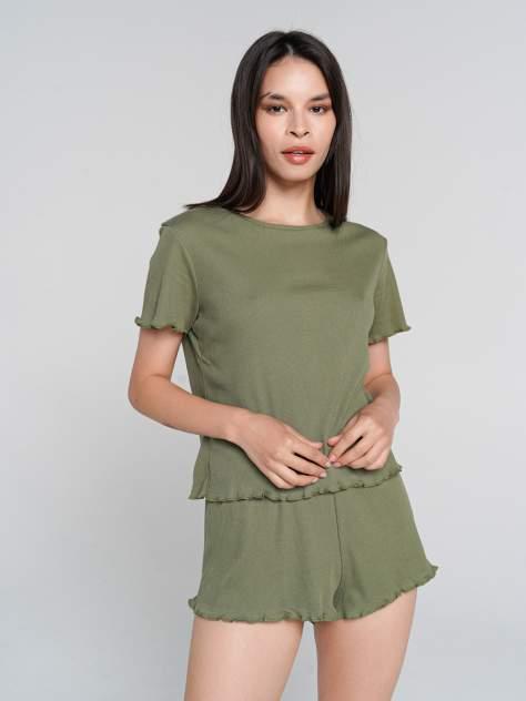 Пижама женская ТВОЕ 71488 зеленая XL