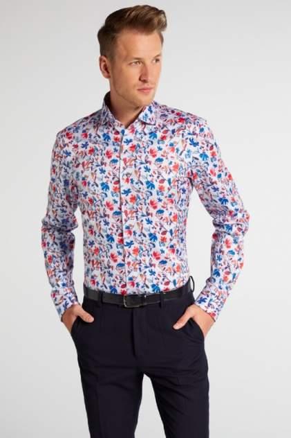 Рубашка мужская ETERNA 3375_55_F682 синяя 41