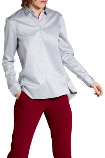 Блуза женская ETERNA 5863_32_Ds90 серая 34