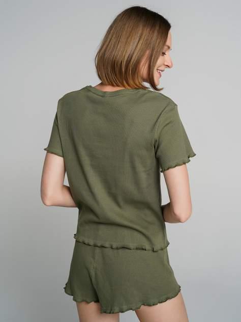 Пижама женская ТВОЕ 72325 зеленая XL