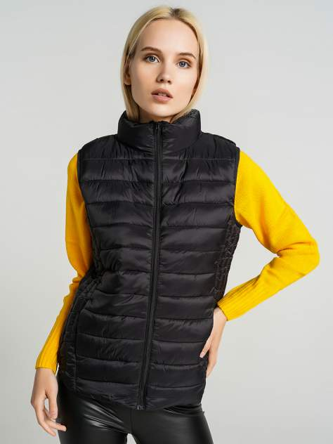 Утепленный жилет женский ТВОЕ A6564 черный XL