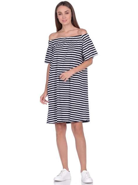 Повседневное платье женское Modis M201W01271 белое 46/ 48