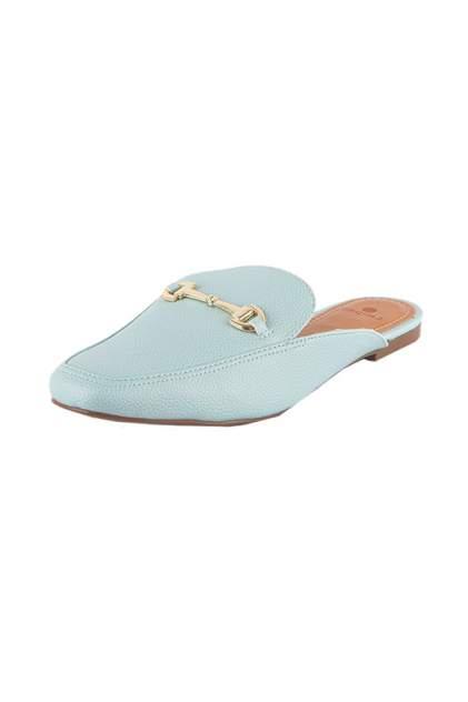 Мюли женские Calipso 229-02-BLL голубые 37 RU