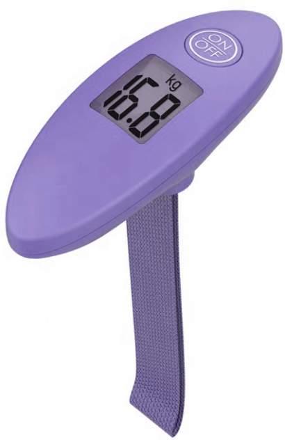Весы для багажа Техметр BT891242 фиолетовые