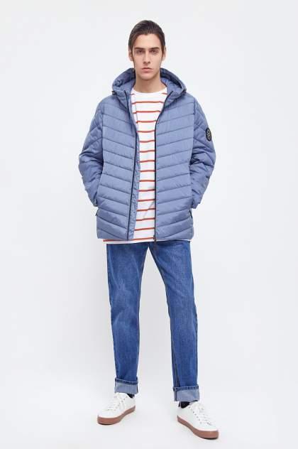 Куртка мужская Finn Flare BA21-22008 голубая 3XL