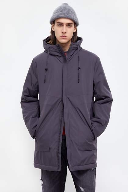 Куртка мужская Finn Flare B21-21007 серая 3XL