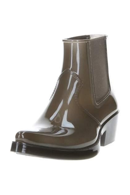 Резиновые ботинки женские Calvin Klein Jeans J3293/SMK зеленые 37 RU