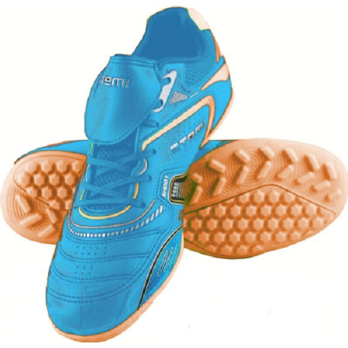 Бутсы Atemi SD300 Turf, голубой/оранжевый, 36 RU