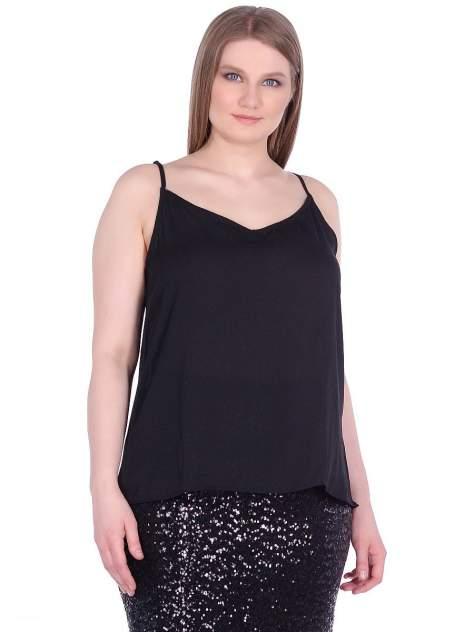 Блуза женская Modis M201W01178 черная 5XL
