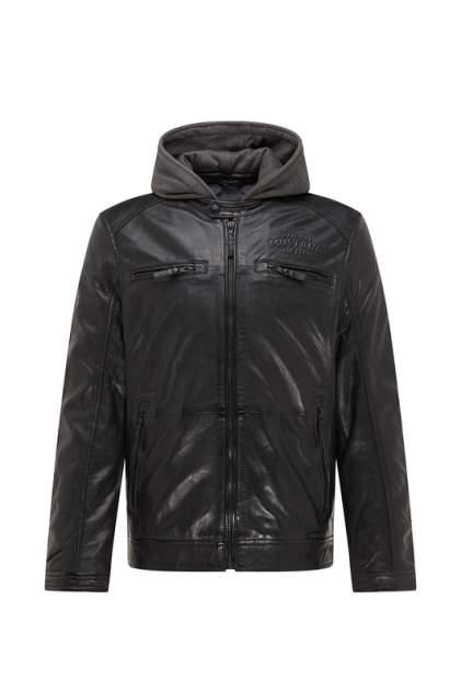 Мужская кожаная куртка Mustang MU-M20-JACKSON-1000, черный