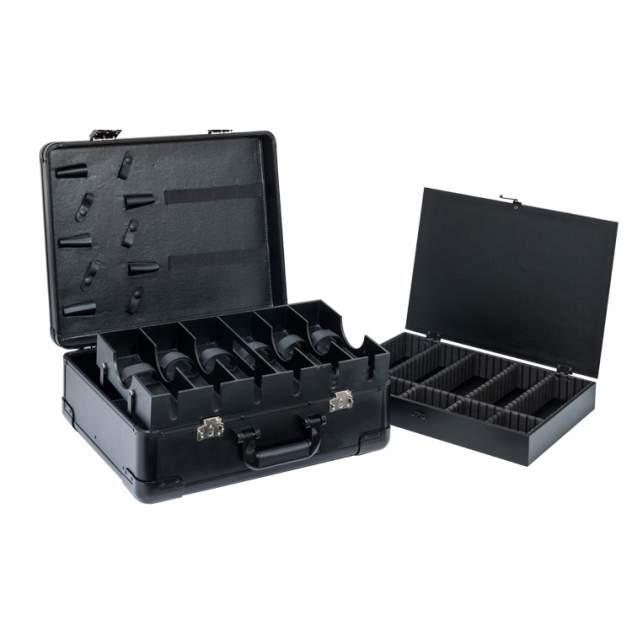 Бьюти-кейс для парикмахерских инструментов унисекс OKIRO KC-RH01 черный