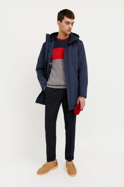 Куртка мужская Finn Flare B21-21007 синяя 3XL