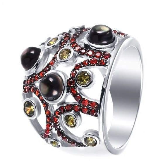 Кольцо женское Джей Ви 1-112666-378000-7 р.18