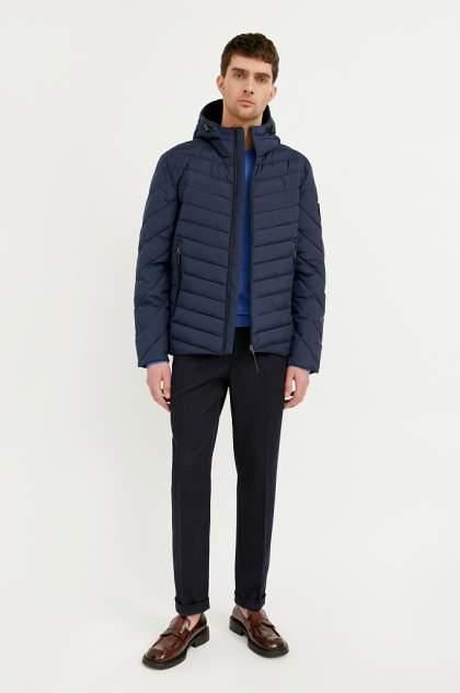 Куртка мужская Finn Flare BA21-22008 синяя 3XL