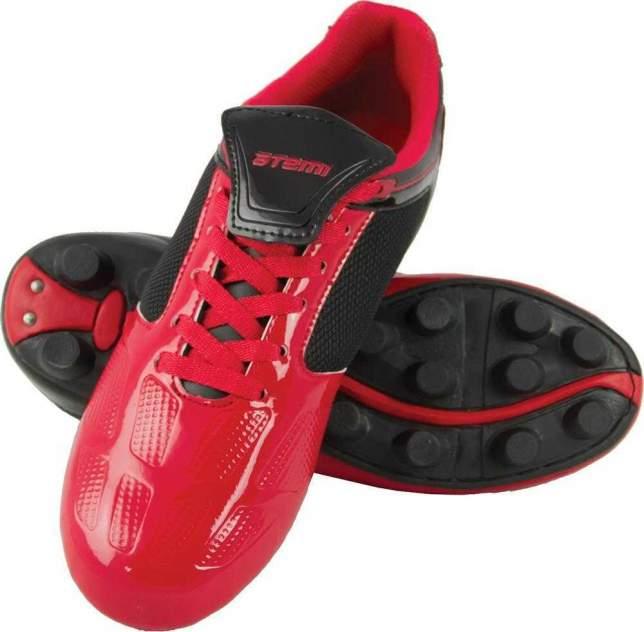 Бутсы Atemi SD803 MSR, красный/черный, 35 RU