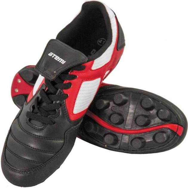 Бутсы Atemi SD730A MSR, черный/белый/красный, 36 RU
