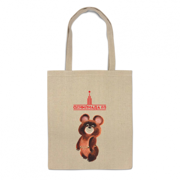 Сумка-шоппер Printio Олимпийский мишка
