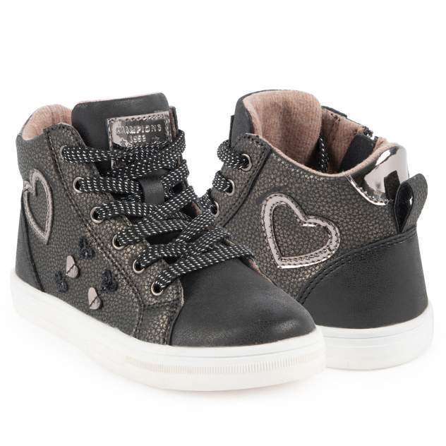 Ботинки детские Kidix, цв.серый