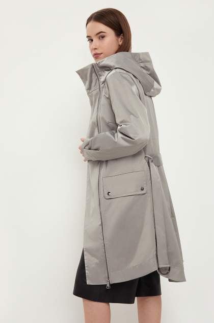 Тренч женский Finn Flare B21-11006 серый M
