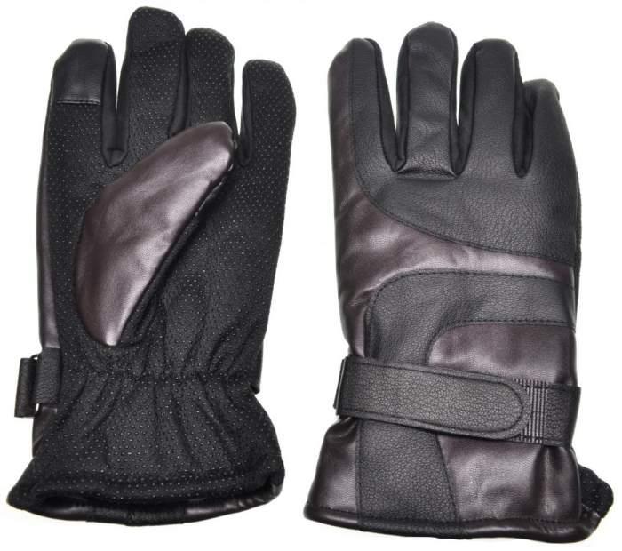 Мужские перчатки Gsmin Leather Gloves, черный