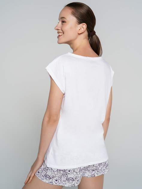 Пижама женская ТВОЕ 71698 белая XL