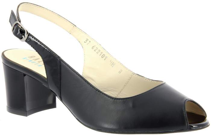 Туфли женские Ralf Ringer 622101 черные 37 RU