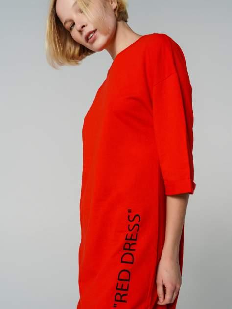 Платье-толстовка женское ТВОЕ 72101 красное L