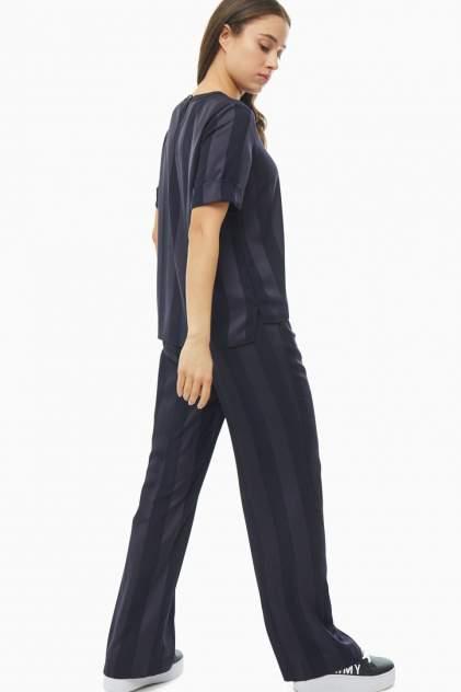 Блуза женская Tommy Hilfiger WW0WW26597 DW5 синяя 36 US