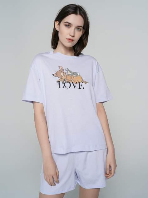 Пижама женская ТВОЕ 80254 голубая L