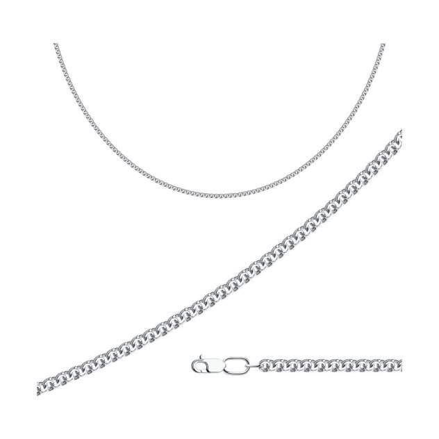 Цепочка из серебра 70 см SOKOLOV 968140454