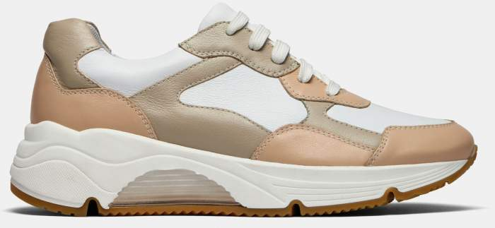 Низкие кроссовки женские Ralf Ringer 605101_1 бежевые 39 RU