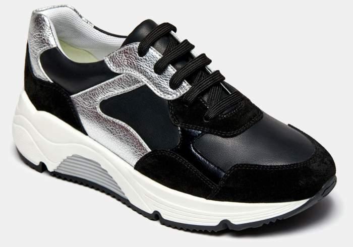 Низкие кроссовки женские Ralf Ringer 605101_2 черные 38 RU