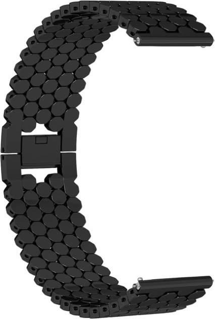 Ремешок для часов GSMIN Snake 22 для GearS3/GalaxyWatch(46mm) Черный