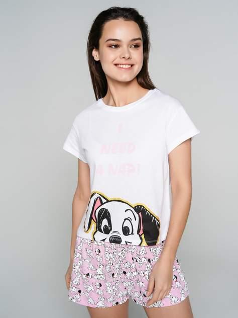 Пижама женская ТВОЕ 71696 белая XS