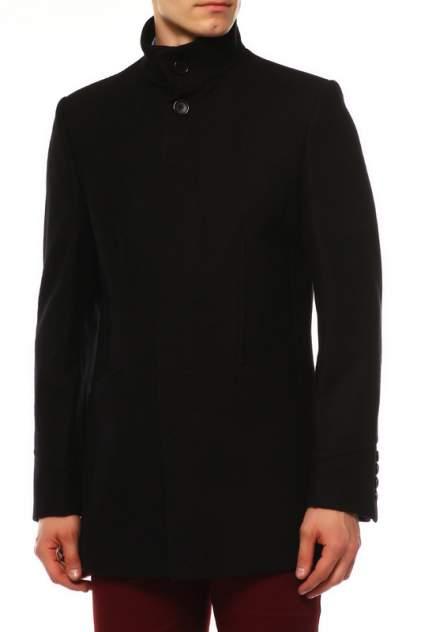 Пальто мужское BAZIONI 5020 MELTON BLACK черные 50