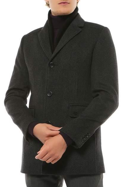 Пальто мужское ABSOLUTEX 5028-2 S CORN BLACK GREY серое 48