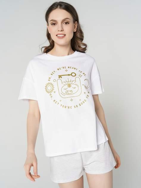 Пижама женская ТВОЕ 67862 белая XL