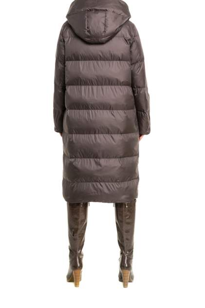 Пуховик-пальто женский IGOR PLAXA F821-1 коричневый 44