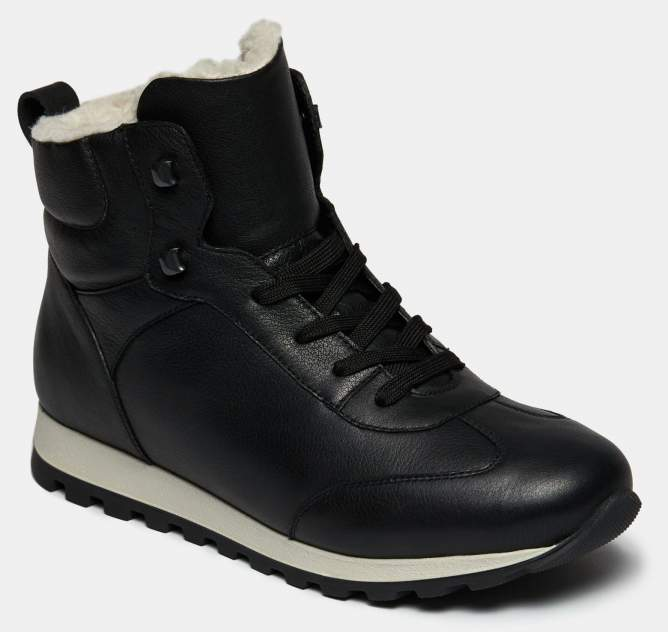 Высокие кроссовки женские Ralf Ringer 673212 черные 37 RU
